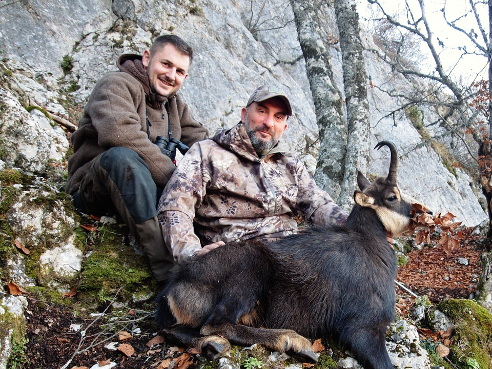 hunting in france with ibex zone
